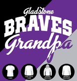 Gladstone Braves Grandpa Shirt (Item #G13)