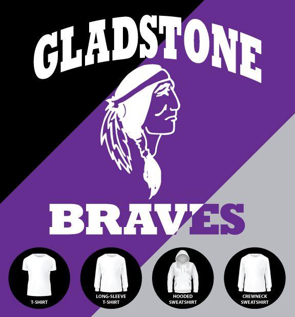 Gldstone Braves Chest Emblem Shirt (Item #G18)