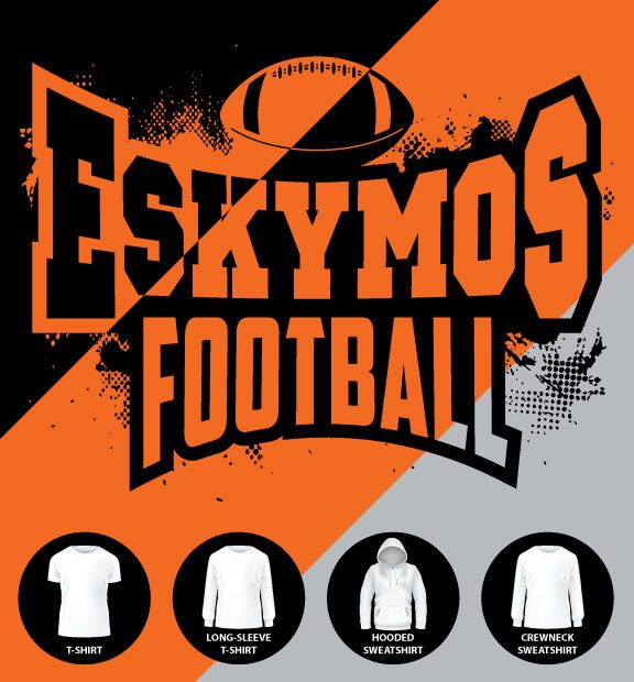 Eskymo Football Shirt (Item #E17)