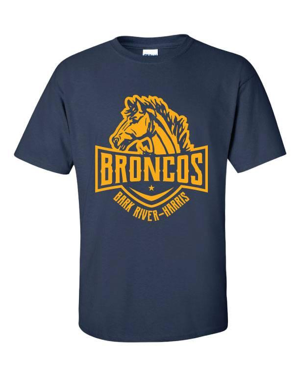 Bronco Head Shirt (Item #BRH5)