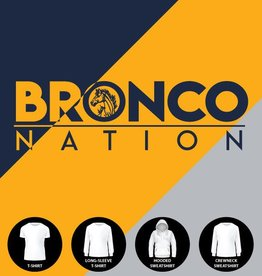 Bronco Nation with Mascot Shirt