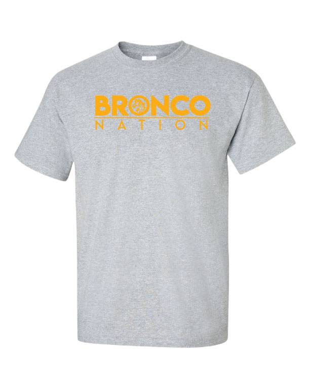 Bronco Nation with Mascot Shirt (Item #BRH6)