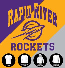 Classic Rapid River Rockets Shirt