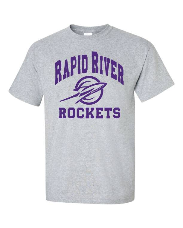 Classic Rapid River Rockets Shirt (Item #RR1)