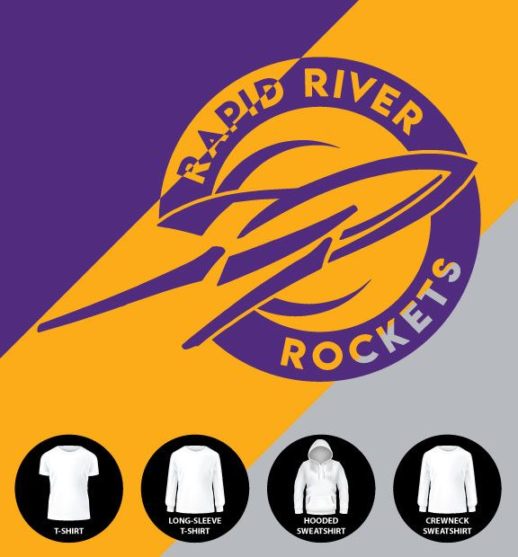 Rocket Circle Shirt (Item #RR4)