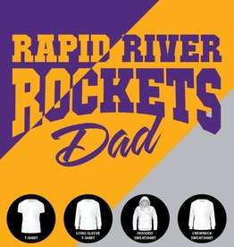 Rockets Dad Shirt