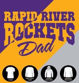 Rockets Dad Shirt
