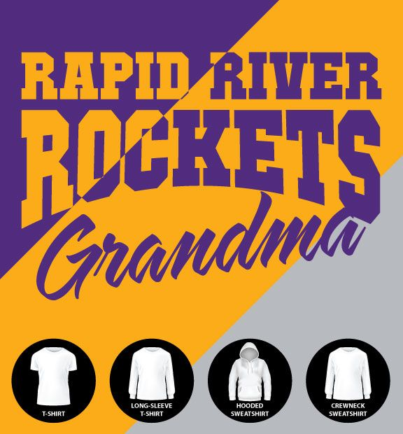 Rockets Grandma Shirt (Item #RR10)