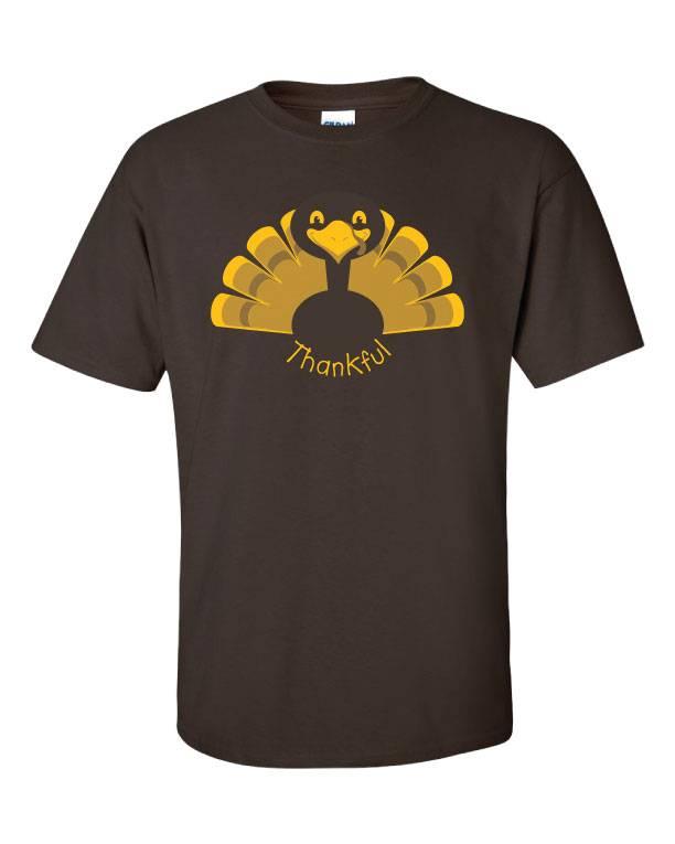 Thankful Turkey T-Shirt (Item #H3)