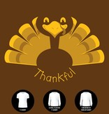 Thankful Turkey T-Shirt (Item #H3)