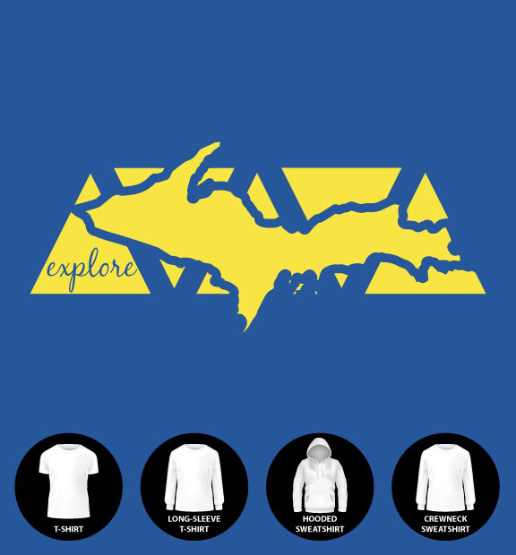 Explore UP Shirt