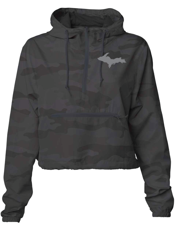 Yooper Pride Pullover Crop Top Jacket