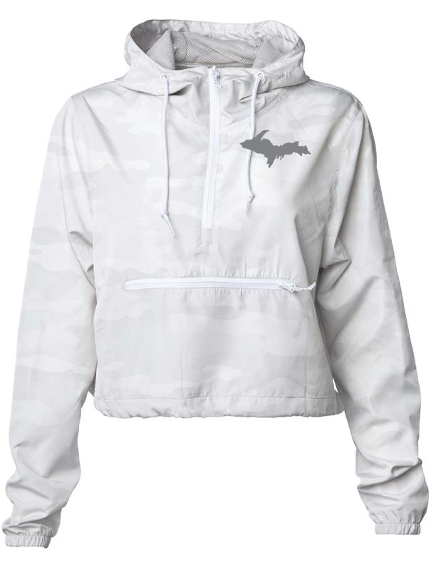 Yooper Pride Pullover Crop Top Jacket