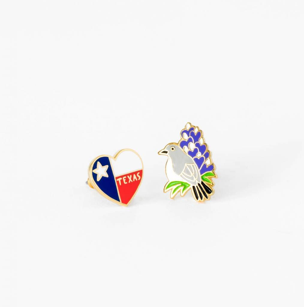 Texas State Earrings