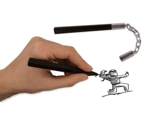 Pen Nunchuck