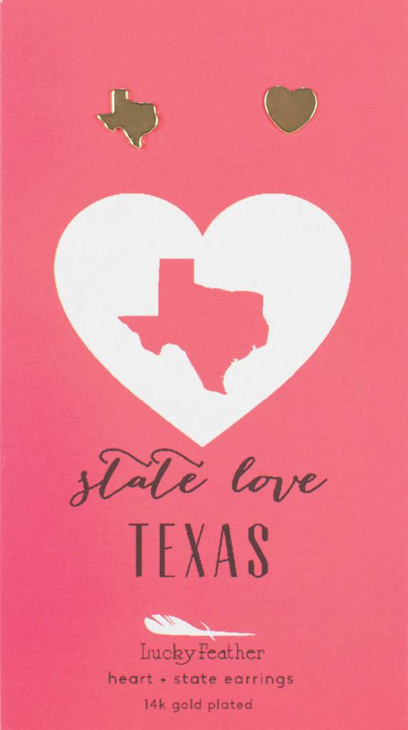 State Love Earrings