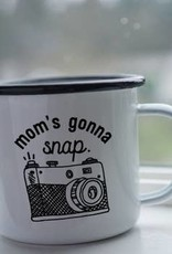 Enamel Co. Mom's Gonna Snap  Enamel Mug