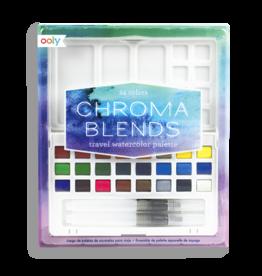 Chroma Blends Travel Watercolor Set