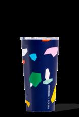 Corkcicle Poketo Blue Confetti Corkcicle Tumbler