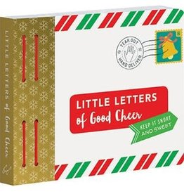 Little Letters of Good Cheer Keep it short and sweet.