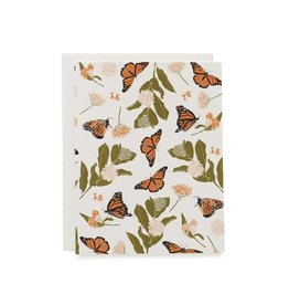 June & December Monarchs + Milkweeds Boxed Set of 8 Cards