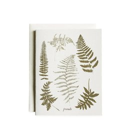 June & December Fronds Cards, Boxed Set of 8