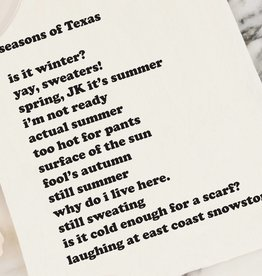 Seasons of Texas Kimball Tea Towel