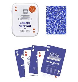 Wild and Wolf College Survival Cards
