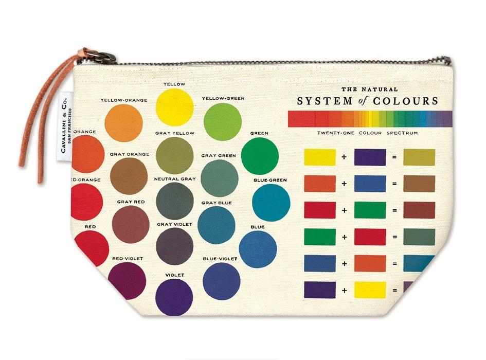 Color Wheel Pouch