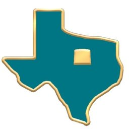 Hogeye Inc. Texas Carter Pin