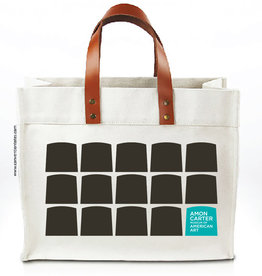 Convention Totes Leather Windows Tote