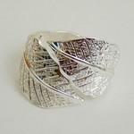 Bracelet Shaw Silver Leaf