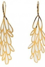 Melissa Borrell Starburst Gold Earrings