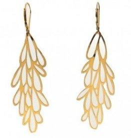Melissa Borrell Starburst Gold Earrings