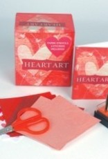 Heart Art Paper, Stencils, Stamp, and More!