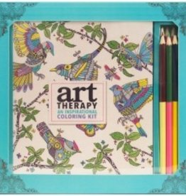 Art Therapy: An Inspirational Coloring Kit