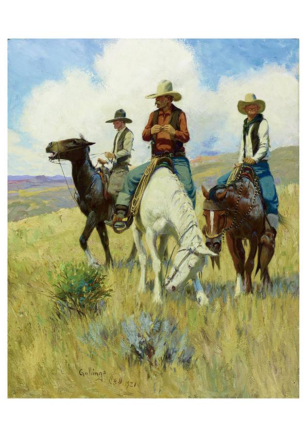 Cowboy's Boxed Notecards