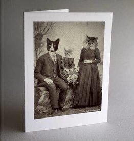Antique Pet Photos Antique Photos Set of 6 Cat Family Note Cards