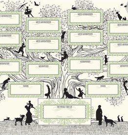 Oddball Press Letterpress Family Tree