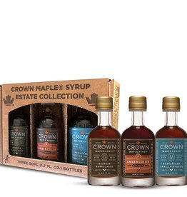 Crown Maple Crown Maple Estate Premium  Syrup Trio Collection