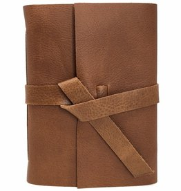 Absolutely EVO Mini Leather Sketchbook In Golden Brown