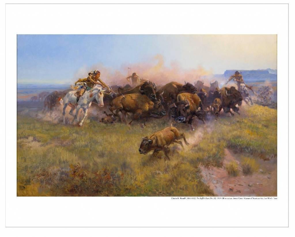 Amon Carter Poster Prints The Buffalo Hunt [No. 39]