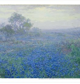 Amon Carter Poster Prints A Cloudy Day, Bluebonnets near San Antonio, Texas