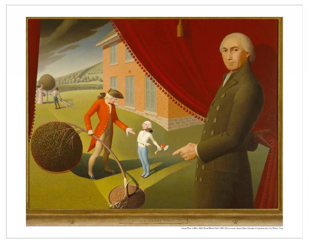 Amon Carter Poster Prints Parson Weems' Fable
