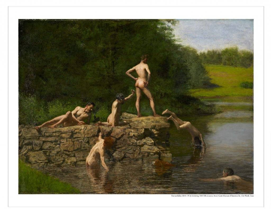Amon Carter Poster Prints Swimming