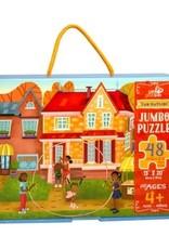 Little Likes Kids Fun Outside Jumbo Puzzle 48 Pieces