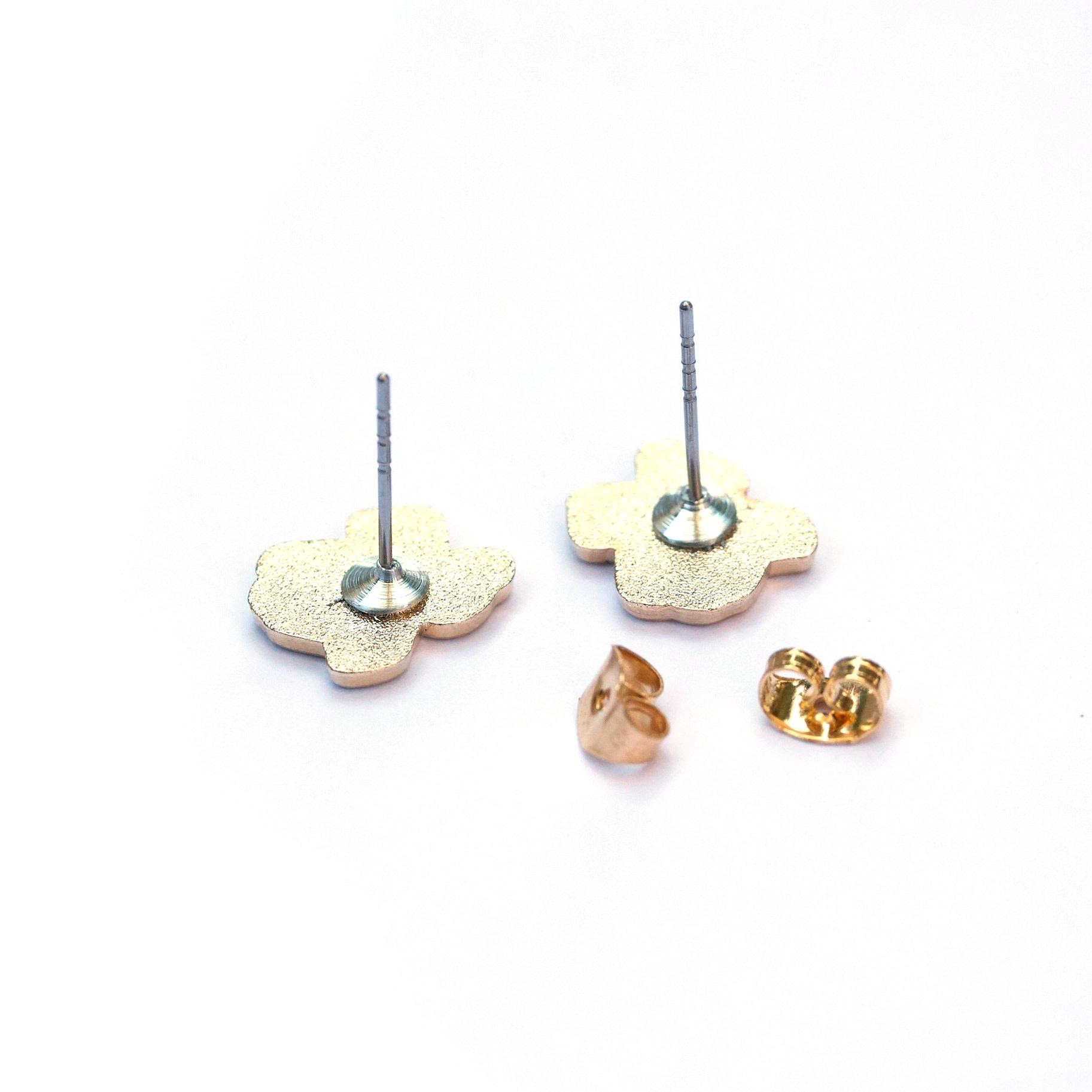 Texas Waffle Earrings