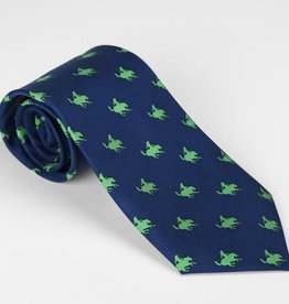Exclusive Blue Remington Cowboy Tie