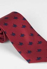 Exclusive Red Remington Cowboy Tie