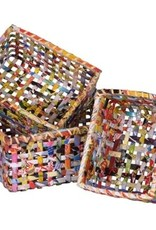 The Upcycled Paper Company Large Vietnamese Basket
